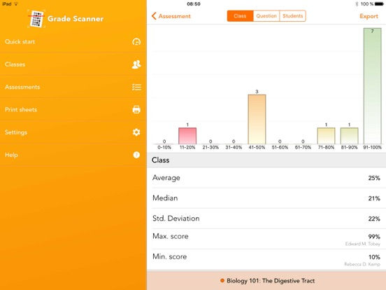 iDoceo Grade Scanner | App Price Drops