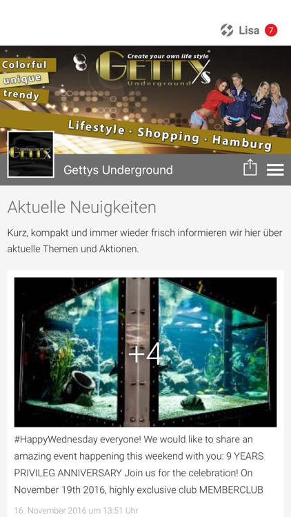 Gettys Underground App