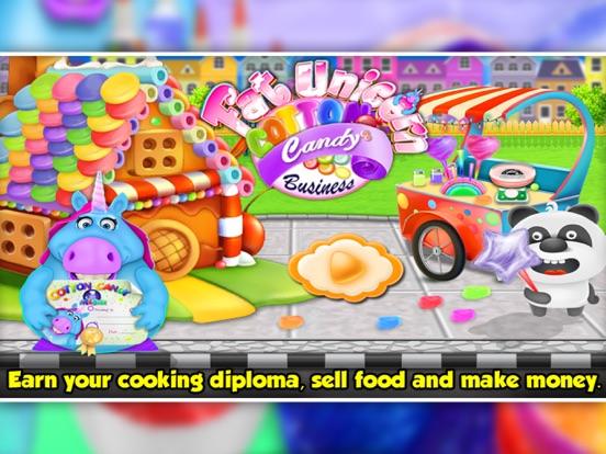 Fat Unicorn Cotton Candy Shop screenshot 7