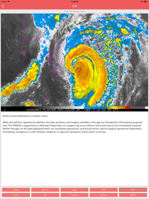 Typhoon Tracker (台風 태풍 台风) screenshot 17
