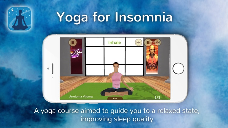 Yoga for Insomnia screenshot-0