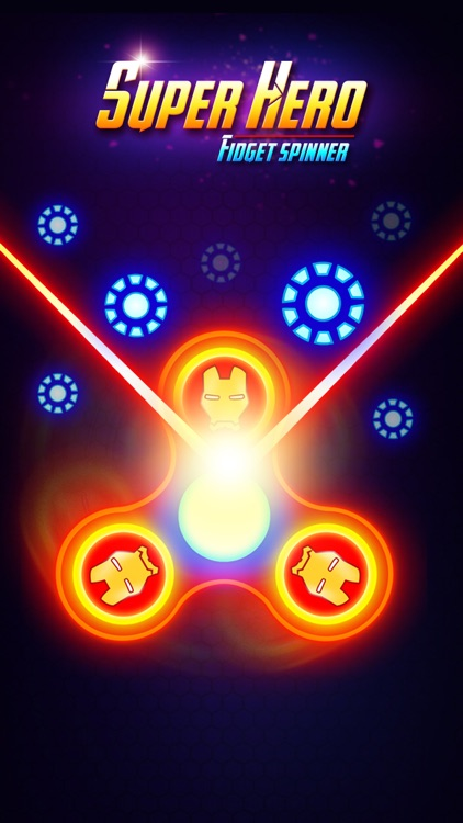 SuperHeroes Fidget Spinner screenshot-6