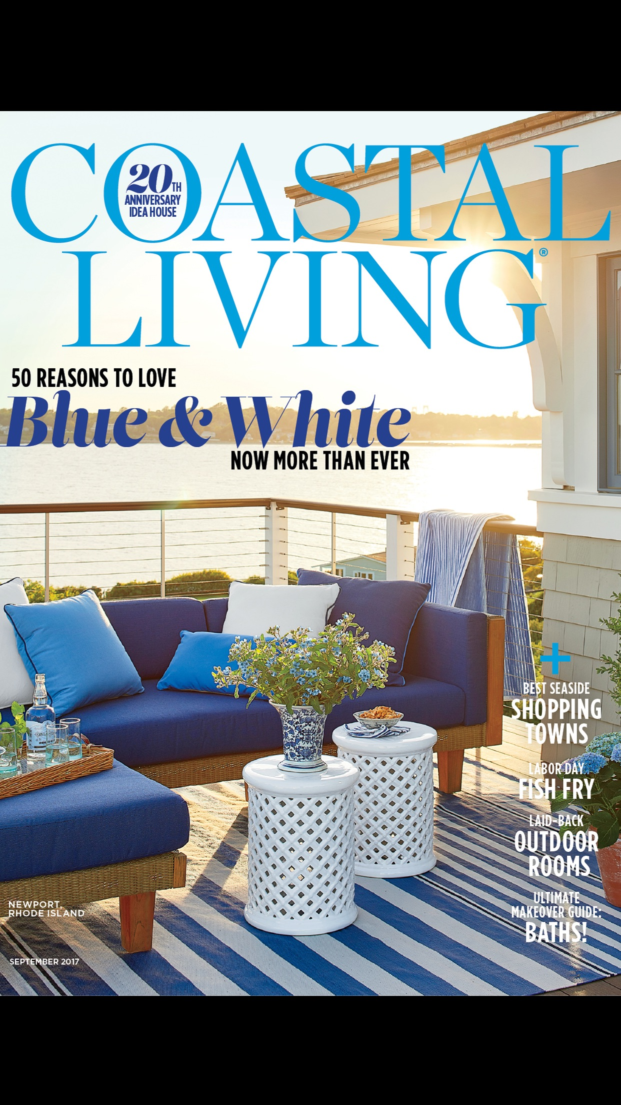 COASTAL LIVING Magazine Screenshot