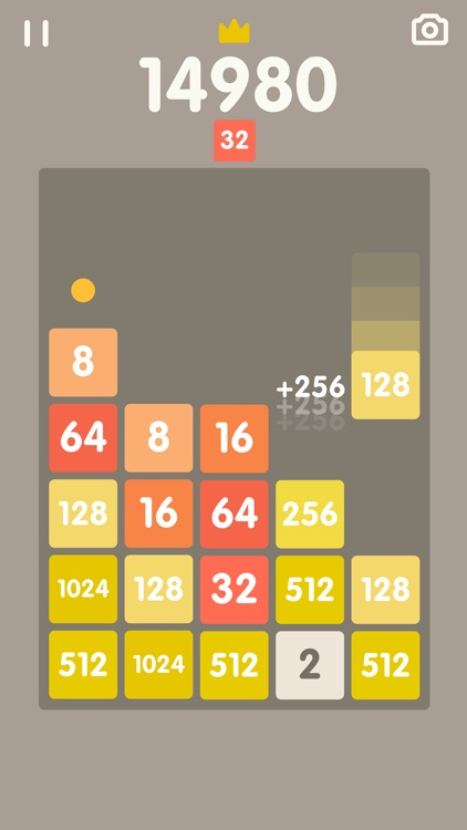 2048 Bricks screenshot-1