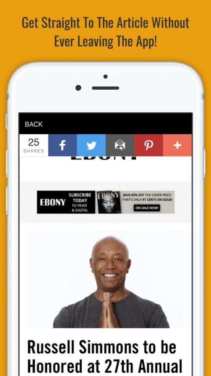 BLVCK - Centralized Hub For African American News screenshot-3