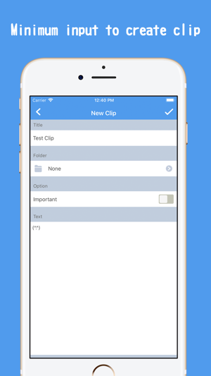 ‎QuickClip | Clipboard Manager Screenshot