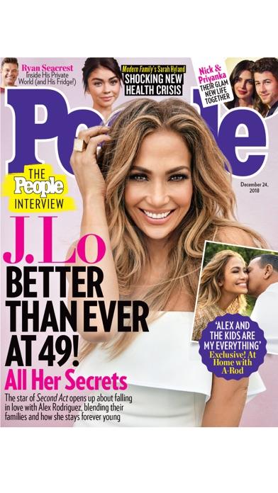 People Magazine review screenshots