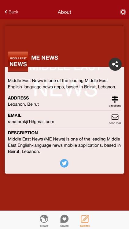 Middle East News screenshot-3