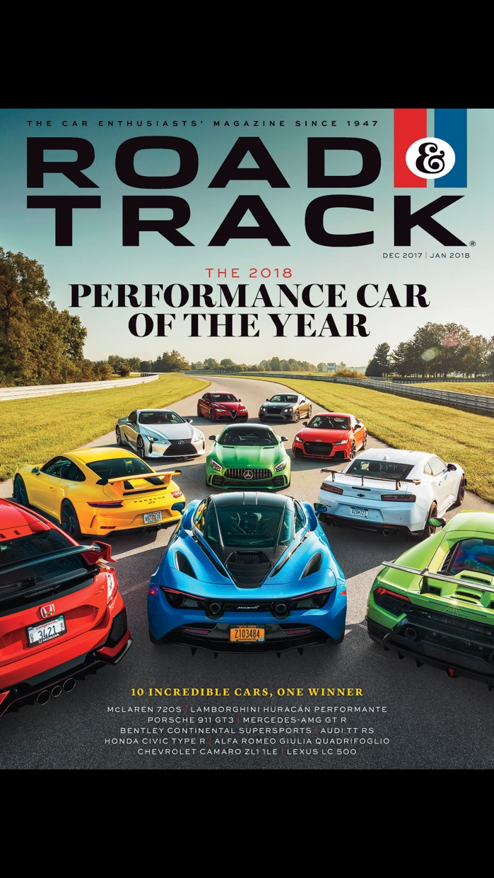 Road & Track Magazine US Screenshot