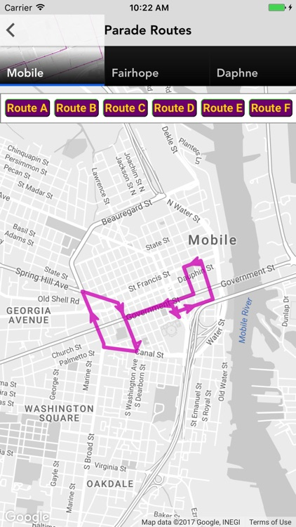 Mardi Gras Parade Tracker WALA screenshot-2