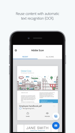Adobe scan on the app store reheart Images