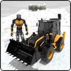 Snow Excavator Crane Rescue icon
