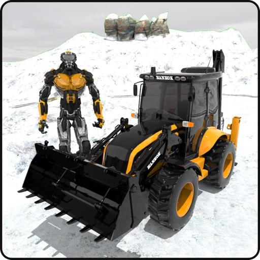 Снег Экскаватор кран спасание
