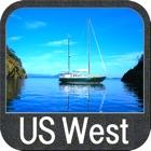 Boating US West & Alaska GPS chart navigator icon