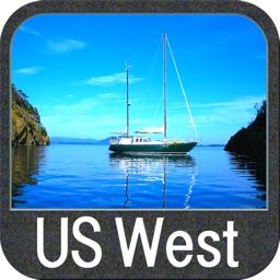 Boating US West & Alaska GPS chart navigator