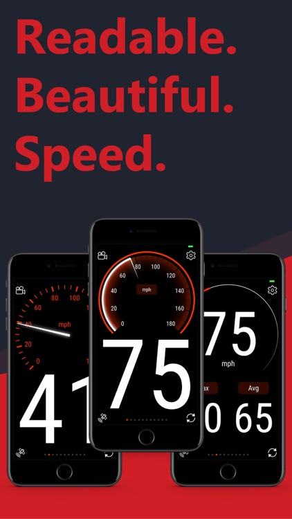 Sp33dy, the gps speedometer
