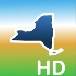 Aqua Map New York Lakes GPS HD