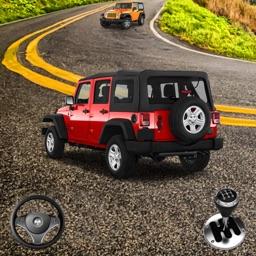 OffRoad Jeep Rally Dash Sim