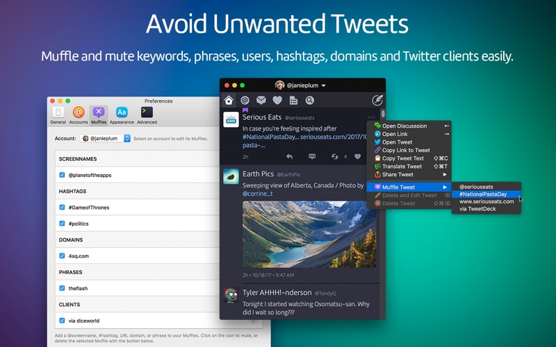 Twitterrific: Tweet Your Way Screenshots