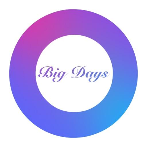 Big Days - Dreamdays Countdown iOS App