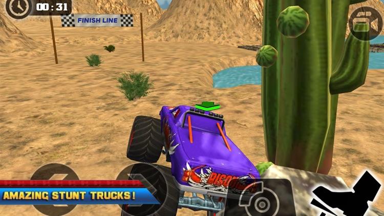 4x4 Monster Truck Driving