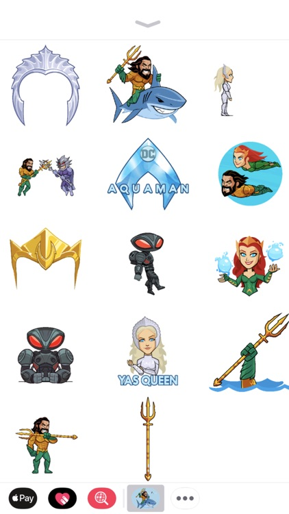 Aquaman Sticker Pack