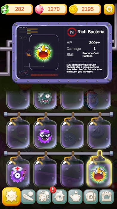 Super Mushroom VS Bacteria screenshot 5