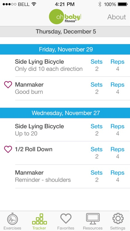 Oh Baby! Pregnancy Exercise screenshot-3