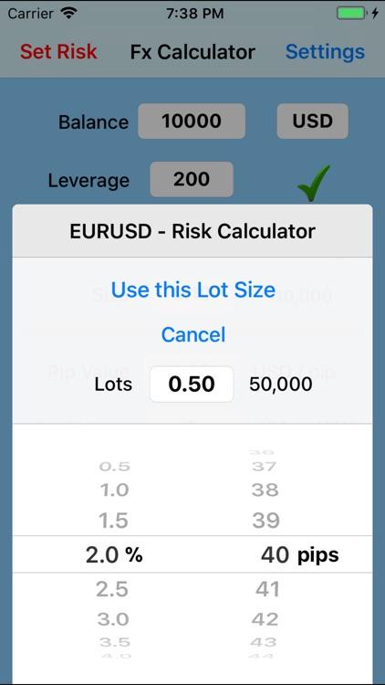 Forex Trade Calculator