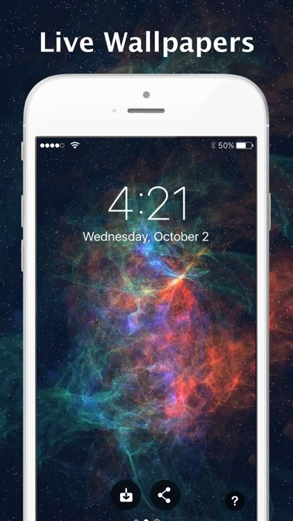 Ocean Floor iPhone Wallpaper