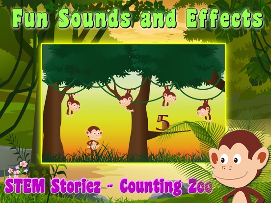 STEM Storiez-Counting Zoo EDU screenshot 8