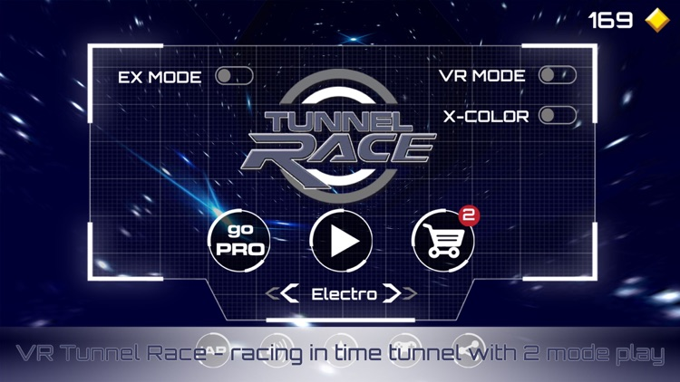 VR Tunnel Race: Speed Rush VR