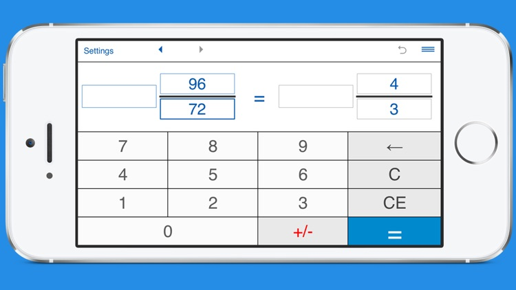 Simplify fractions calculator by Intemodino Group s.r.o.