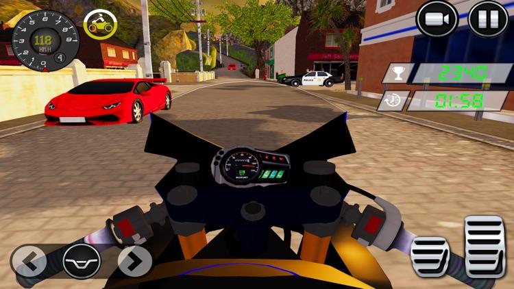 Dirt Bike Stunt Race-r Game 3D screenshot-3