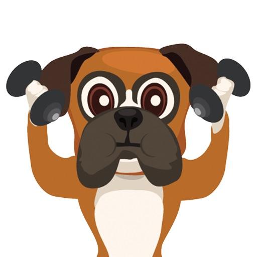 BoxerMoji - Boxer Dog Emoji | Apps | 148Apps