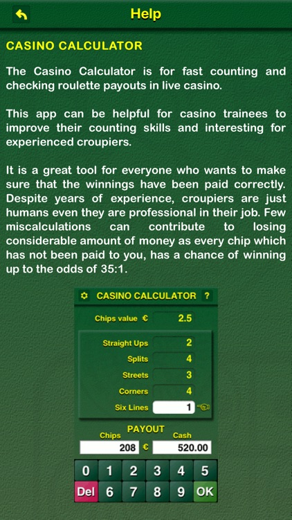 Casino Calculator screenshot-3