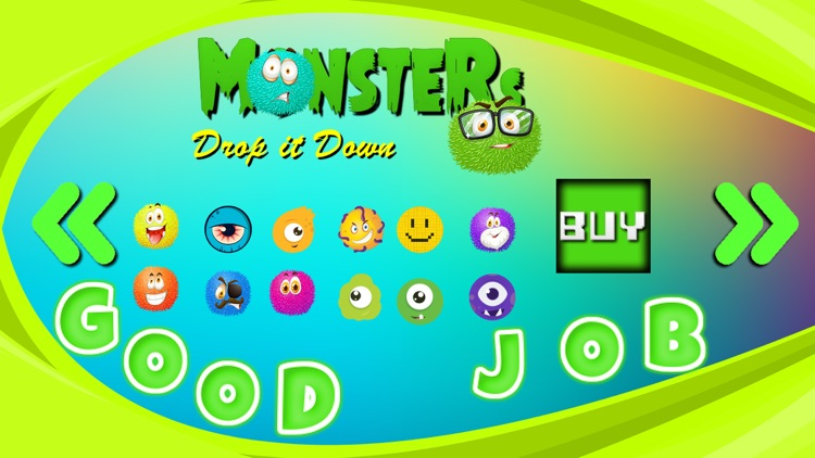 Monsters Game Drop it Down screenshot-4