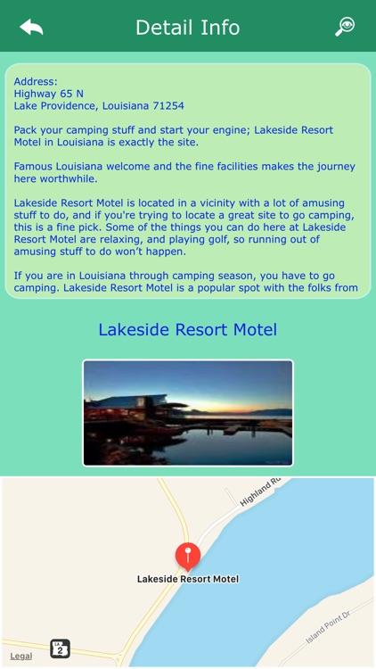 Camping in Louisiana