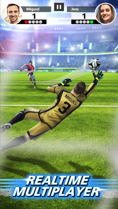 Football Strike - Multiplayer Soccer Screenshot 1