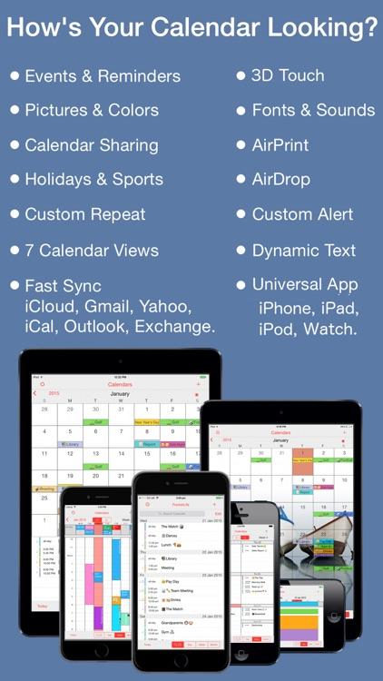 PocketLife Calendar screenshot-0