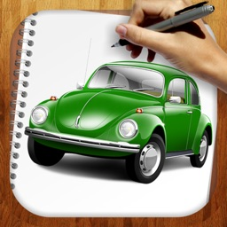 Easy Draw : Old Retro Cars
