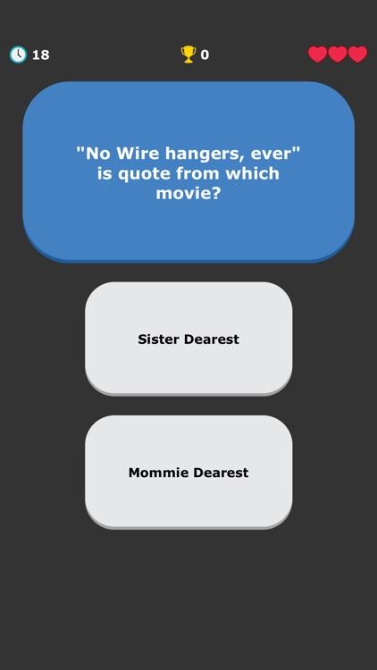 Movies Quiz - Quotes Trivia screenshot-5