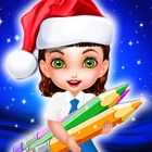 Christmas Color Book games icon