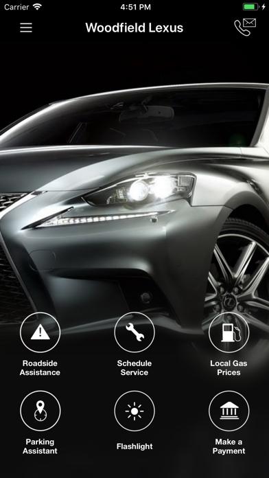 Woodfield Lexus DealerApp screenshot one