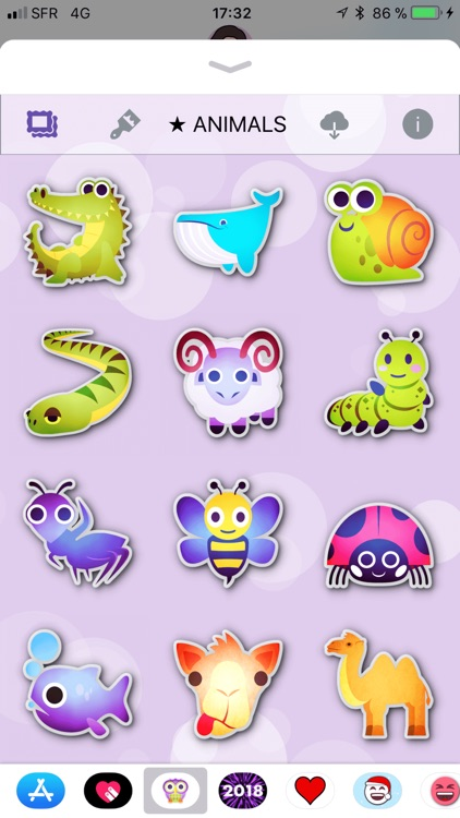 Animals Emoji • Stickers