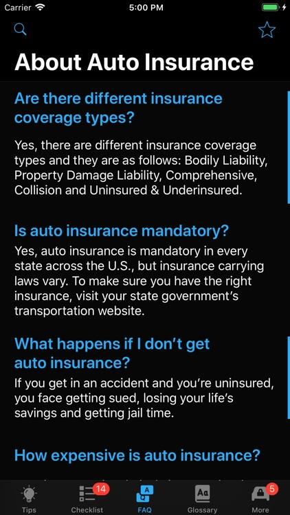 Car Insurance App screenshot-7