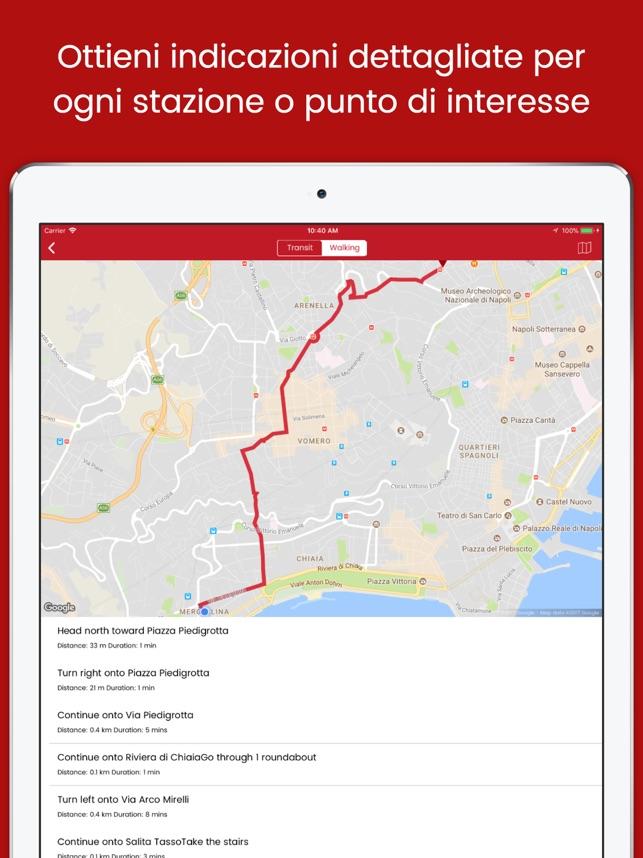 Napoli Subway Map.Easymetro Naples On The App Store