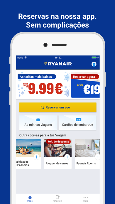 Screenshot for Ryanair in Portugal App Store