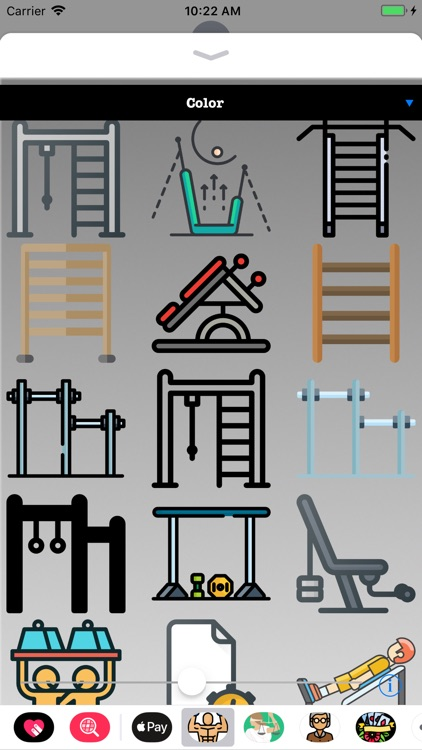 Exercise Workout HD Stickers screenshot-1