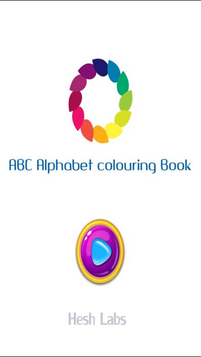 ABC Alphabets Colouring Book